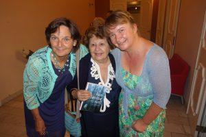 De auteurs met Janina, mei 2017.